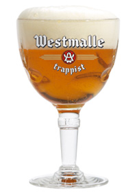 glass of Westmalle Tripel
